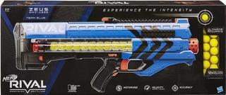 Nerf Zeus Rival Mvx - 1200 Azul Y Rojo C/u (2 X 250 )