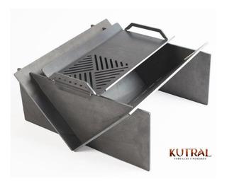 Fogonero Kutral Desarmable + Plancha