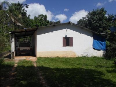Juquitiba - Chácara/5.200 Mts/garagem/sede/galpão Ref: 03977