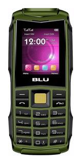 BLU Flash Dual SIM 32 MB Verde-militar 32 MB RAM