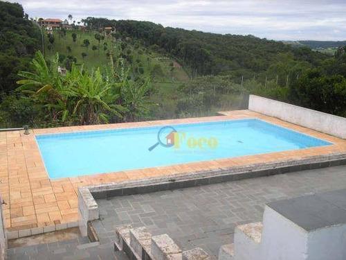 Chácara Com 5 Dormitórios À Venda, 20000 M² Por R$ 800.000 - Jardim Da Luz - Itatiba/sp - Ch0221