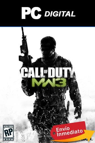 Call Of Duty Modern Warfare 3 Pc Español / Deluxe Digital
