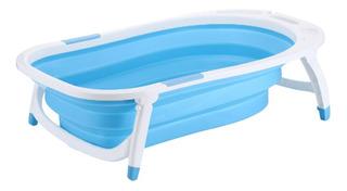 Bañera Bebe Plegable Bañadera Para Bebé Rooby Colores Cuotas