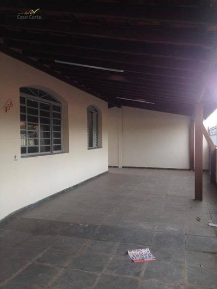 Casa Com 4 Dormitórios Para Alugar, 160 M² Por R$ 1.200/mês - Jardim Santo Antônio - Mogi Guaçu/sp - Ca1536