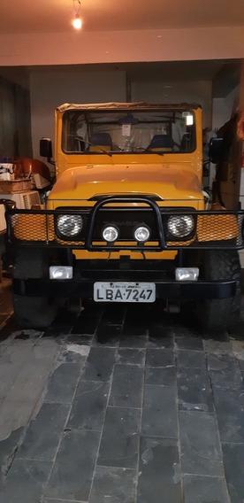 Toyota Bandeirante Jeep Conversivel
