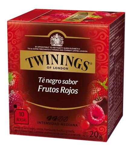 Te Twinings Frutos Rojos Caja X 10 Saquitos Exquisito Nuevo!