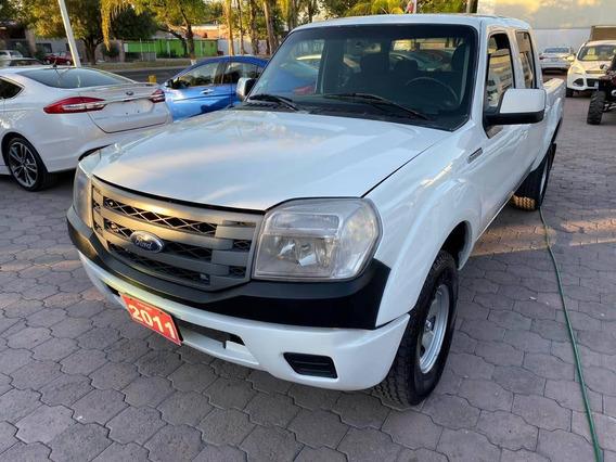 Ford Ranger Xl 4 Puertas Aire Acondicionado Mt. Blanca 2011