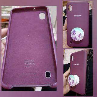 Forro Original Y Popsocket Samsung A10