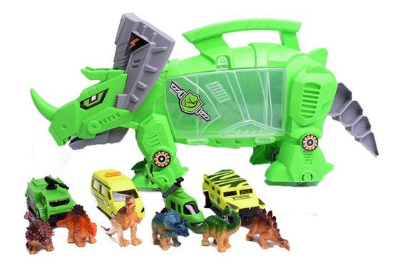 Valija Guardar Dinosaurios Y Autos Dino Droide Duende Azul