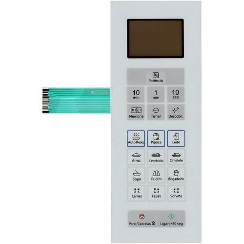 Imagem 1 de 2 de Membrana Teclado Microondas Panasonic Nn St35hwru St 35 Hwru