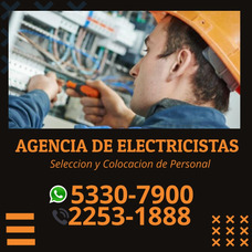 Te Ofrecemos Electricistas Fijos Y Temporales Para Empresa