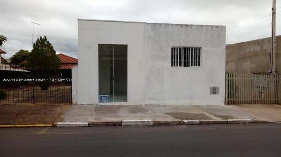 Sala Comercial Para Locação Em Pirapozinho, Centro, 1 Banheiro - 3074