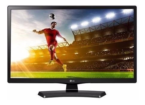 Tv Monitor Lg 24 Led Hd 24mt49df Hdmi Usb D-sub Componente