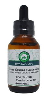 Extrato Dores Ósseas E Articulares 60ml - Artrite / Atrose