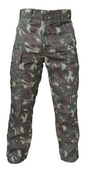 Calça Camuflada Costuras Duplas - Caça Pesca Airsoft