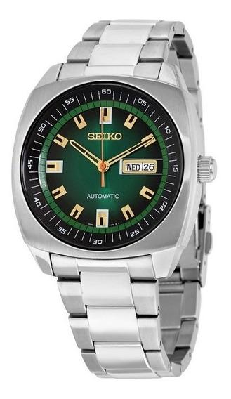 Relógio Seiko Recraft Automático Em Aço Inoxidável