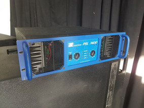 Amplificador Machine Psl 7400 Zerado