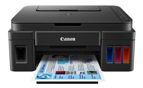 Impresora Canon Multifucional Canon G2100 Tinta Continua Usb