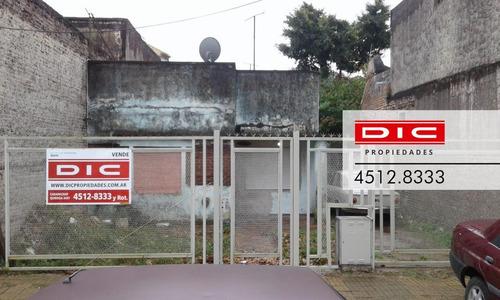 Imagen 1 de 10 de Casa/lote Ideal P/reciclar Con Entrada Para Autos, Muy Buenos Accesos - Munro