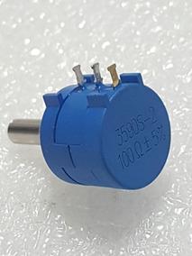 Potenciômetro Precisão Multivoltas Bourns 3590s-2-100¿+ 5%
