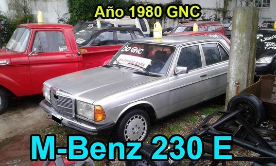 M-benz 230 E Año 1980 Con Gnc
