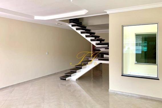 Sobrado Com 3 Dormitórios, 154 M² - Venda Por R$ 720.000,00 Ou Aluguel Por R$ 2.850,00/mês - Jardim Santa Clara - Guarulhos/sp - So0015