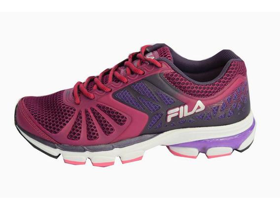Zapatillas Fila Running Pulse 2.0 Mujer Bordo