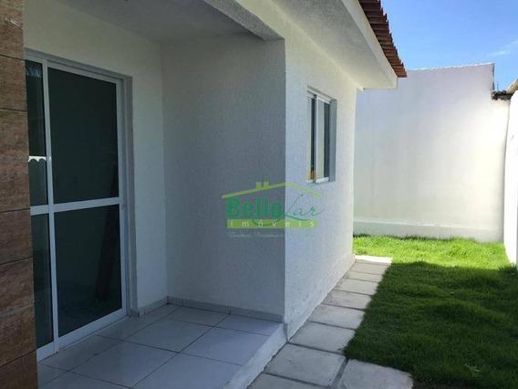 Casa Com 2 Dormitórios À Venda, 45 M² Por R$ 125.000 - Nossa Senhora Do Ó - Paulista/pe - Ca0525