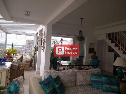 Imagem 1 de 30 de Cobertura Com 3 Dormitórios À Venda, 180 M² Por R$ 1.590.000,00 - Santo Amaro - São Paulo/sp - Co0780