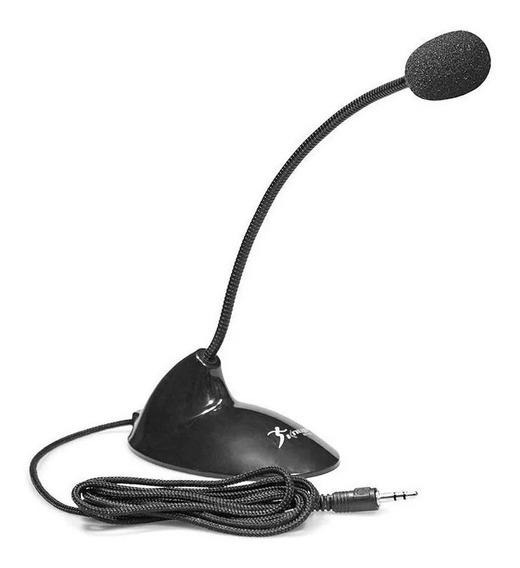 Microfone Mesa Pedestal Pc Notebook P2 Knup