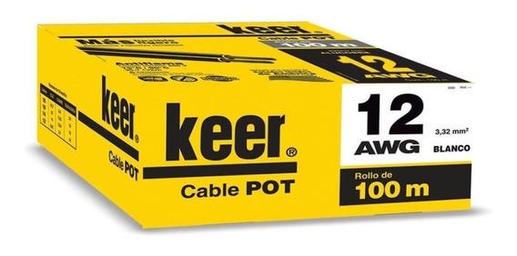 Cable Pot Keer #12 100 Mts Alucobre