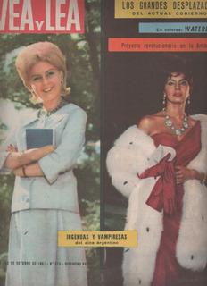 Revista Vea Y Lea * Año 1961 Nº 373 Elsa Daniel - I . Sarli