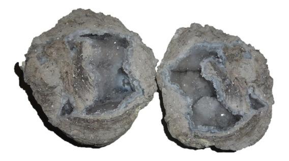 Mineral De Colección Geoda De Cuarzo
