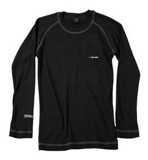 Camiseta Termica Makalu Drymax Pro Gris Topo Primera Piel