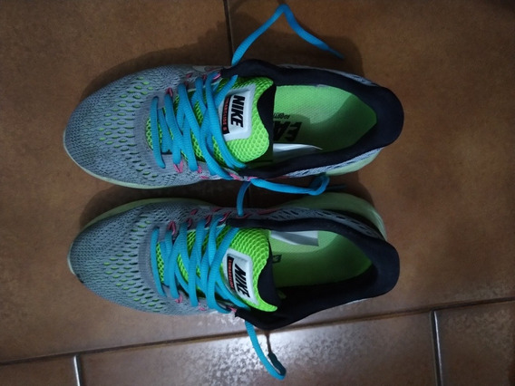 Zapatillas Nike Lunarglide 8 Woman Pisada Pronadora. 23.5 Cm