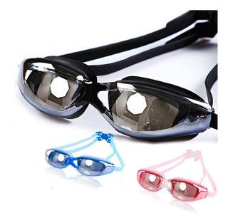 Óculos De Natação Proteção Uv400 Anti Embaçante Profissional
