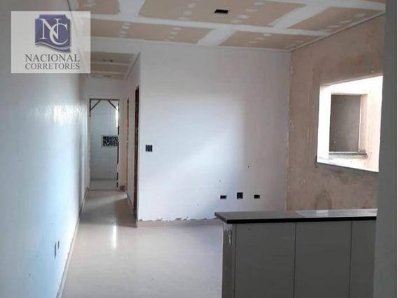 Apartamento Com 2 Dormitórios À Venda, 66 M² Por R$ 340.000,00 - Parque Das Nações - Santo André/sp - Ap10659