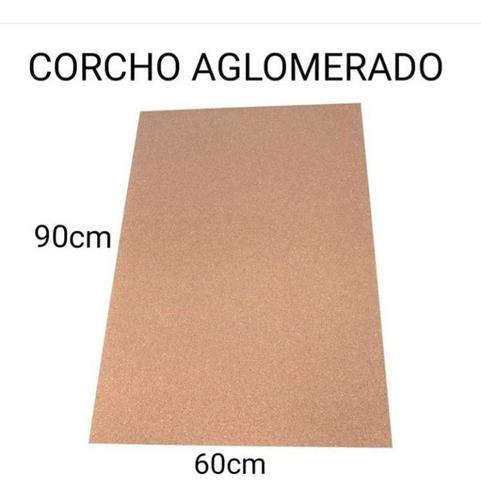 Corcho Aglomerado 90x60cm.(de Varios Mm)