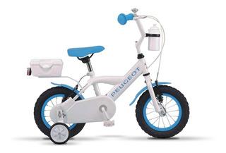 Bicicleta De Niños Rodado 12 Peugeot Cj-51