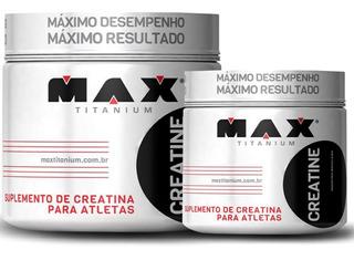 Creatina 300g Max Titanium - Creatina Monohidratada