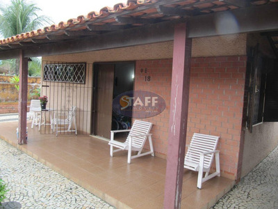 Casa Residencial À Venda, Recanto Das Dunas, Cabo Frio. - Ca0356