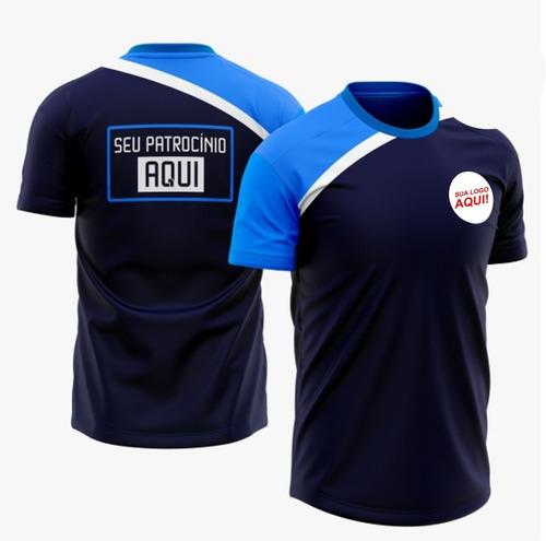 Kit 50 Camisetas Promocionais Em Sublimação Malha Esportiva