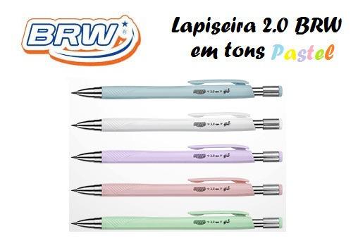 Kit C/ 5 Lapiseiras Pastel 2.0 - Brw