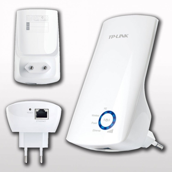 Roteador Repetidor De Sinal Wifi 300m Tl-wa850re - Tp-link -