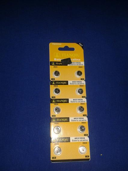 Pila Bateria Reloj Spiner Lr 41 Ag3 392a