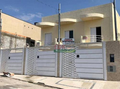 Imagem 1 de 10 de Sobrado Com 2 Dormitórios À Venda Por R$ 255.000 - Jardim Santa Rita - Itaquaquecetuba/sp - So2284