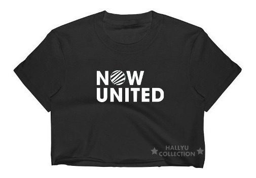 Cropped Now United Blusa Infantil E Adulto