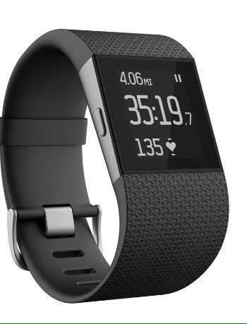 Relógio Fitbit Surge - Large Size - Quase Novo