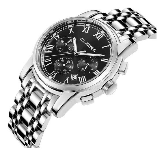 Reloj Para Hombre Reloj De Acero Inoxidable Reloj De Lujo C