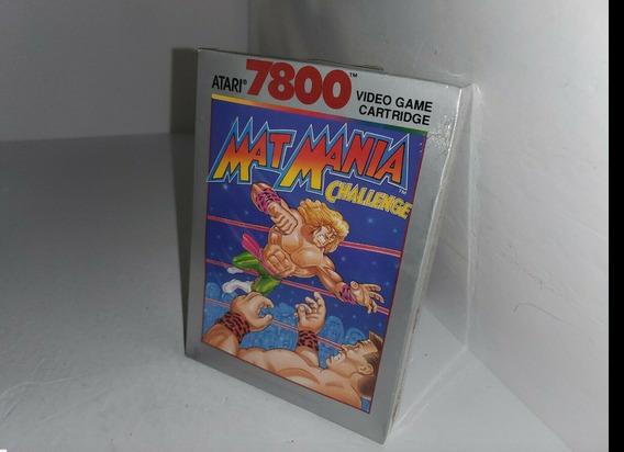 Atari Jogo Matmania Westeling 7800 Lacrado Cartucho Ano 1989